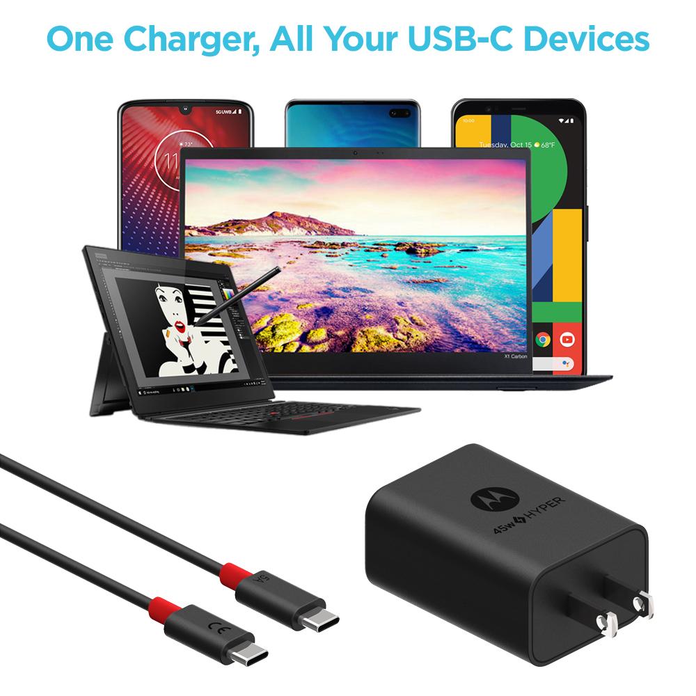 Broad USB-C Compatibility