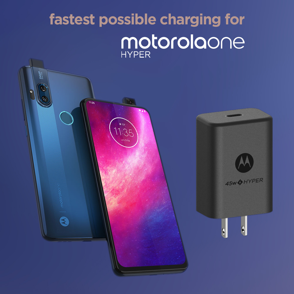 Fastest Possible Charging for motorola one hyper