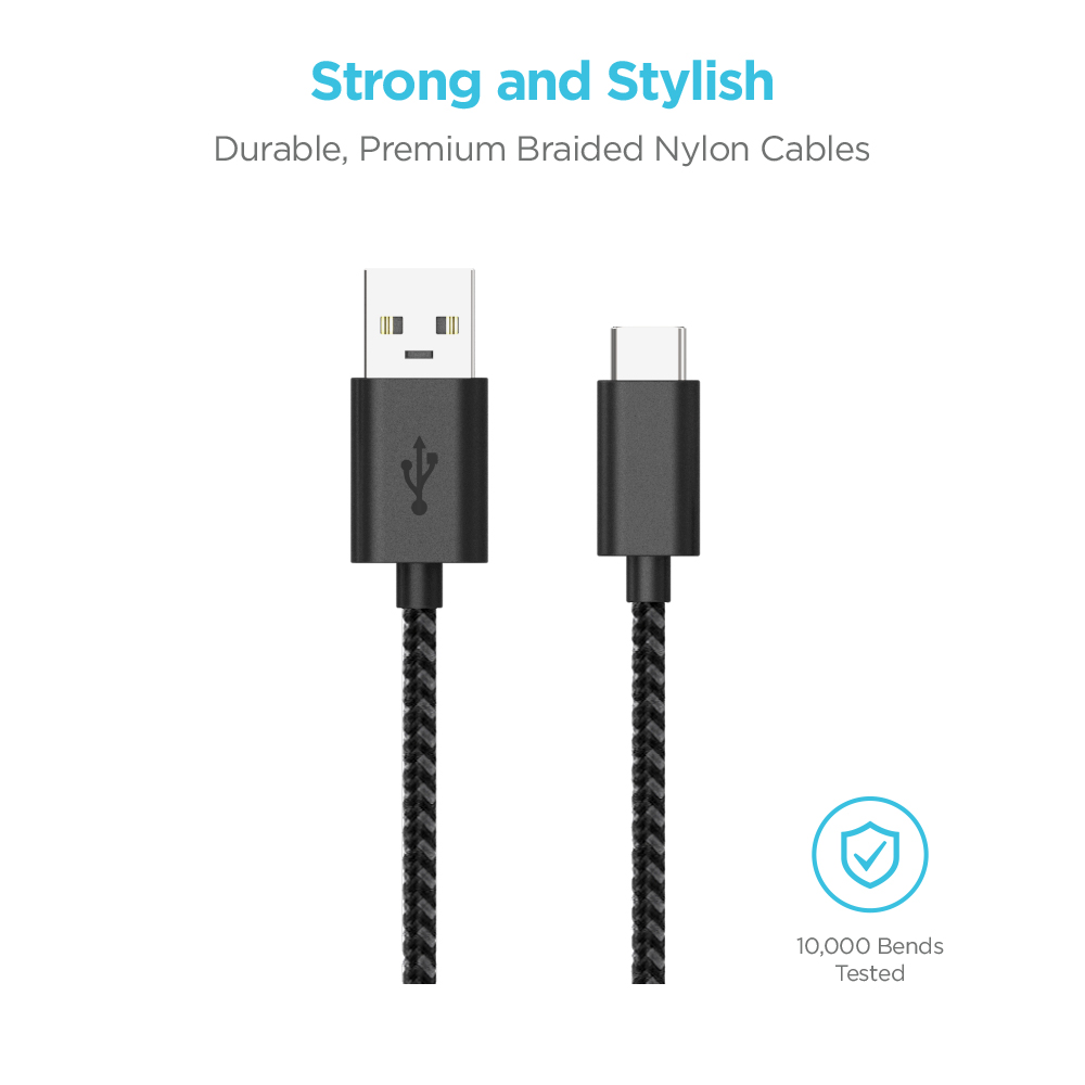 Premium Braided Nylon Cables